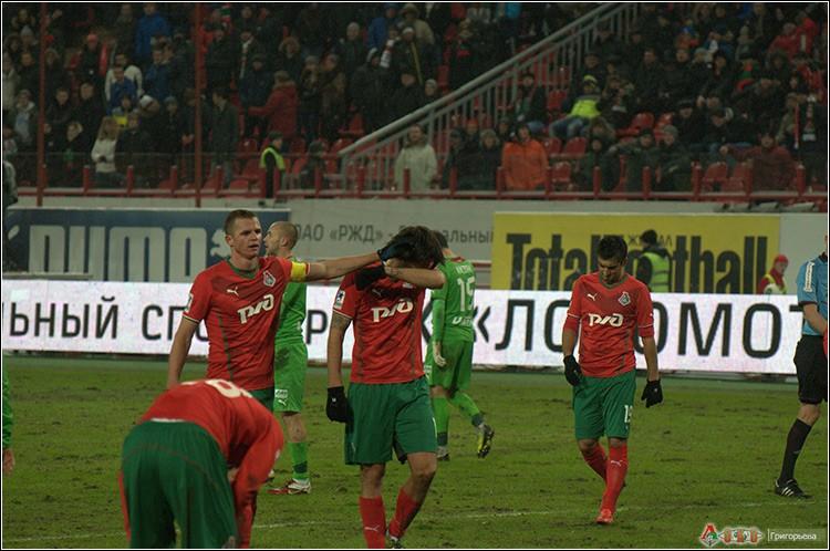 Локомотив - Рубин 0-0