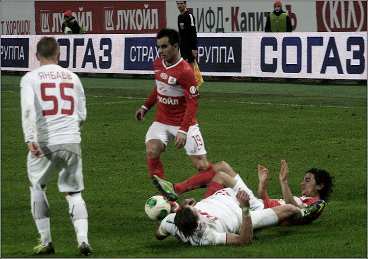Спартак - Локомотив 1-14