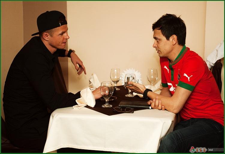 Встреча болельщиков с Дмитрие Тарасовым