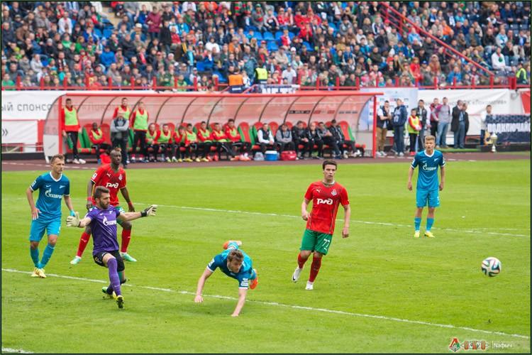 Локомотив - Зенит 1-1