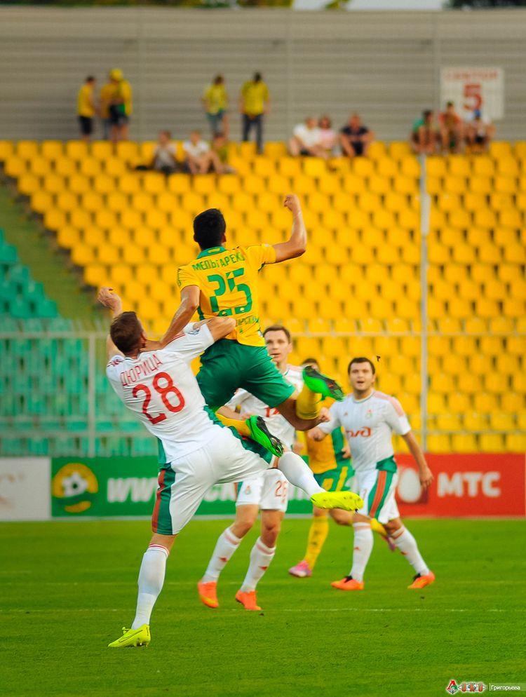 ФК Кубань - ФК Локомотив  2-1