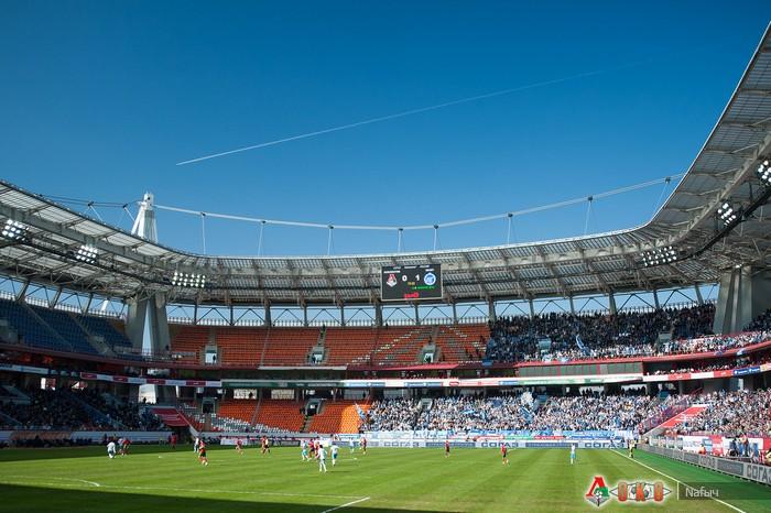 Фото с матча Локомотив - Зенит