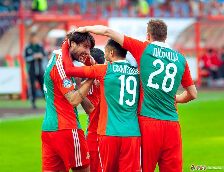 ФК Локомотив - ФК Амкар 3-55