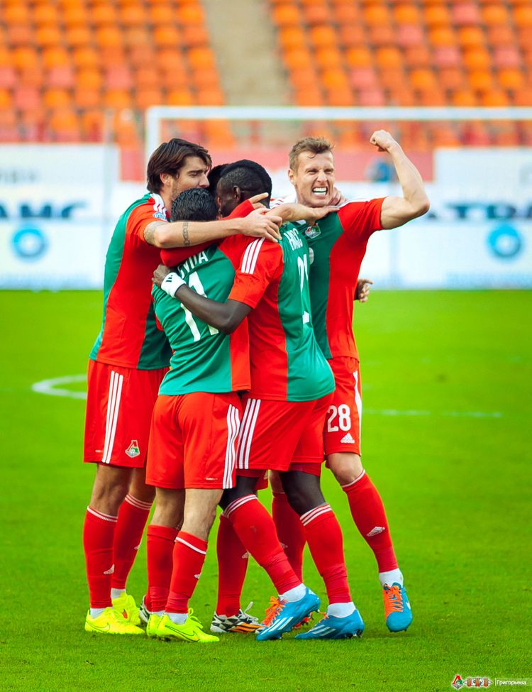 ФК Локомотив - ФК Амкар 3-60
