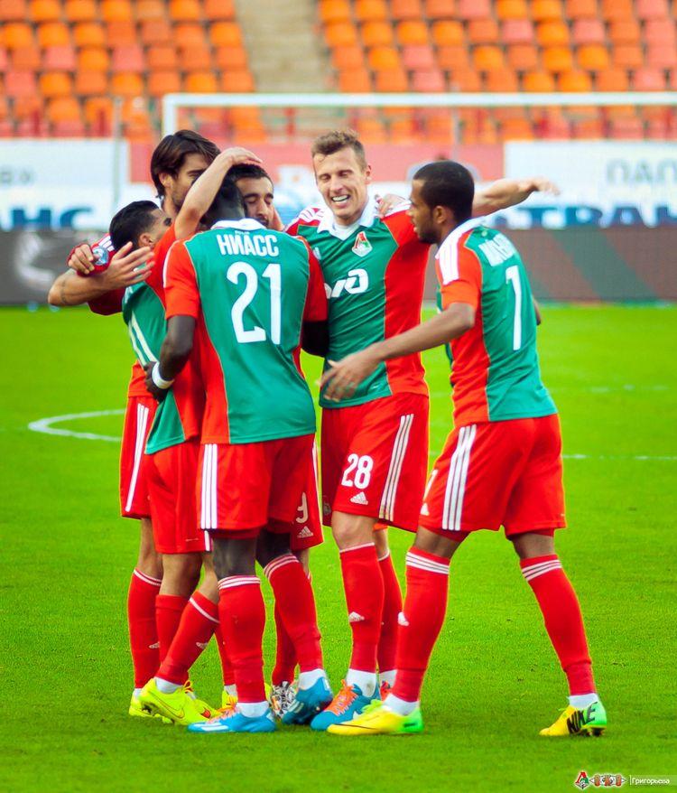 ФК Локомотив - ФК Амкар 3-61