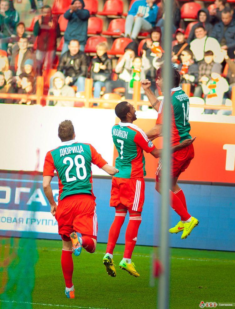 ФК Локомотив - ФК Амкар 3-68