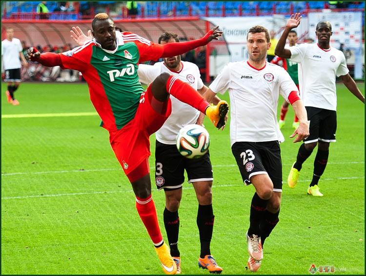 ФК Локомотив - ФК Амкар 3-22