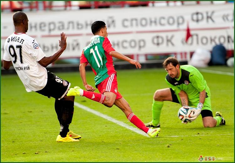 ФК Локомотив - ФК Амкар 3-29
