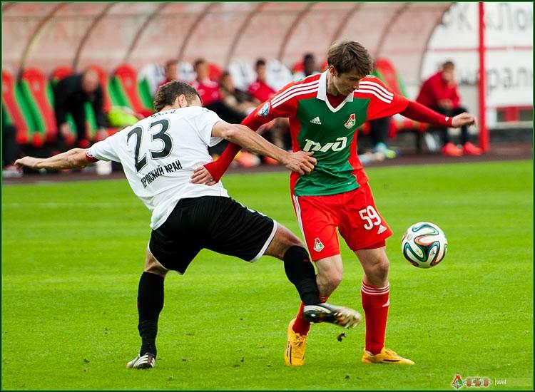 ФК Локомотив - ФК Амкар 3-73
