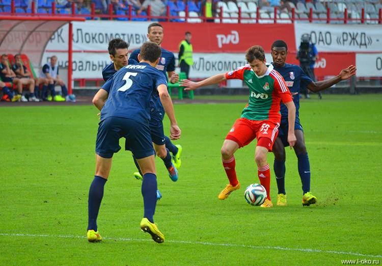 ФК Локомотив - ФК Мордовия 1-1