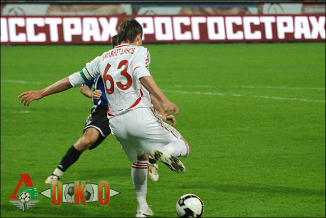 ФК Локомотив Москва - ФК Шинник Ярославль. 3-0.
