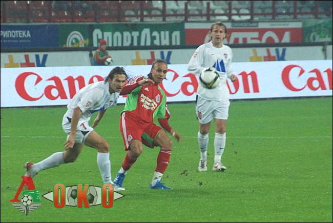 ФК Локомотив Москва - ФК Химки Химки. 0-2