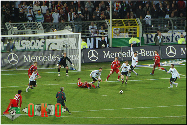 Сборная Германии - сборная России. 2-1