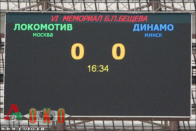 Мемориал Б.П.Бещева. Финал. Локомотив Москва - Динамо Минск