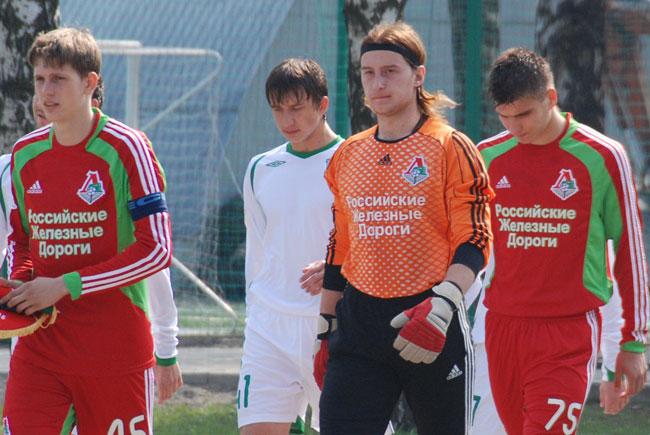 Вратарь Локомотива - Илья Киселёв