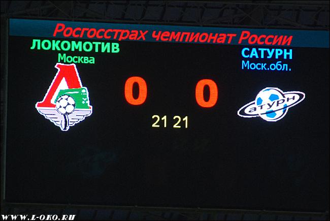 Локомотив - Сатурн 0-0