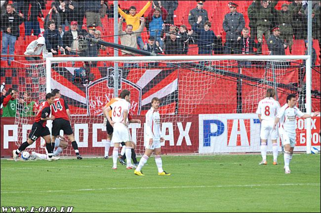 Первый гол в ворота Локо