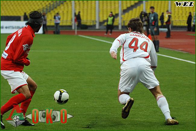 ФК Спартак Москва - ФК Локомотив Москва. 0 - 1