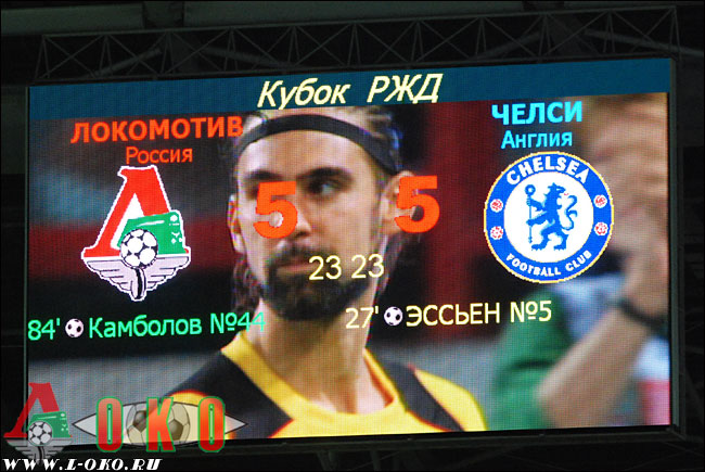 Кубок РЖД. Локомотив - Челси  6-5