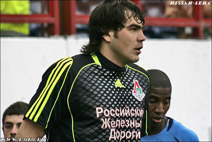 Иван Второй - голкипер Локо