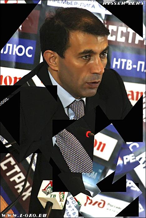 Рашид Рахимов - тренер Локомотива