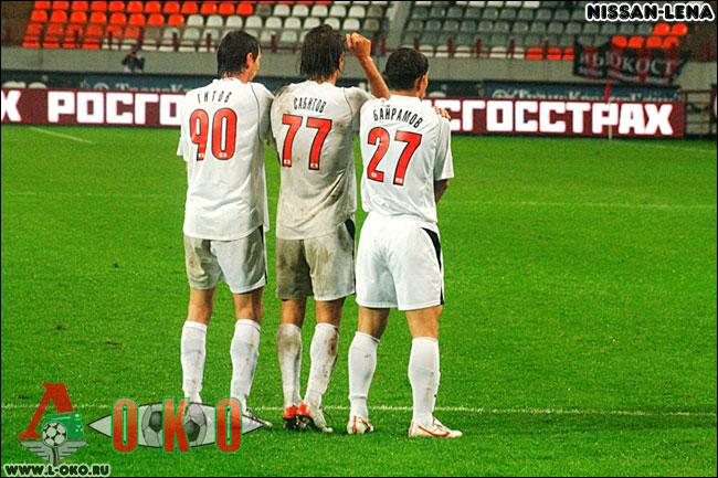 Фк Локомотив Москва - Химки. 0-2