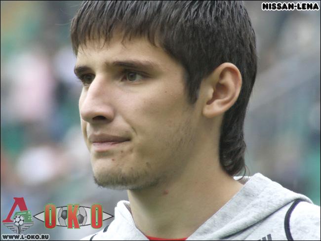 Игроки Локомотива крупным планом