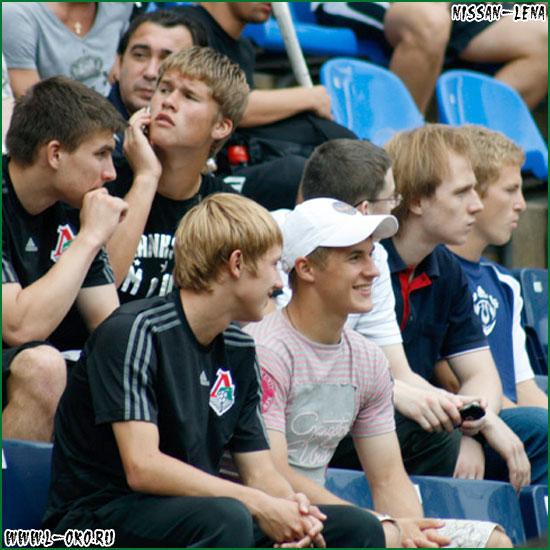 Фото игроков и участников матча Локо - Спартак