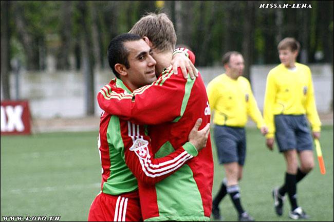 Фото с матча Локомотив Москва - Томь (молодежка)