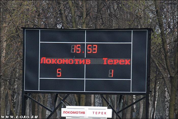Отчет о дубле Локомотив - Терек
