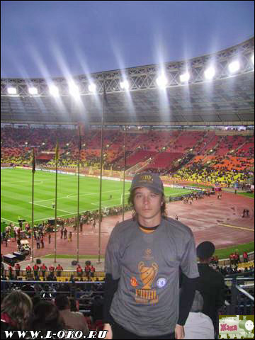 Лига Чемпионов 2008 в Москве