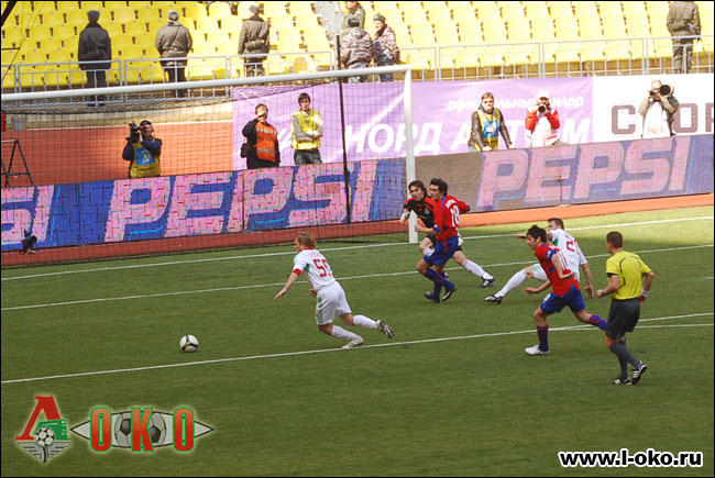 ЦСКА - Локомотив 4-1