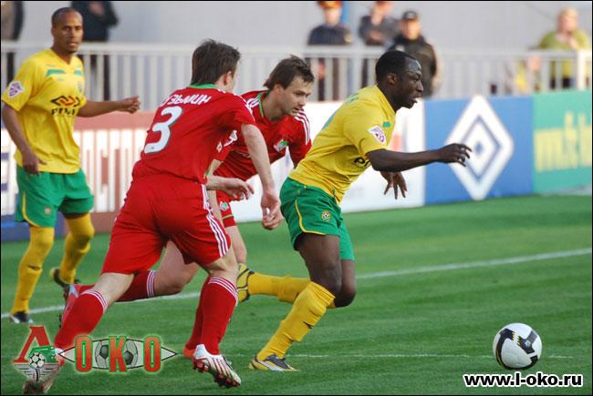 Кубань - Локомотив Москва 1-0