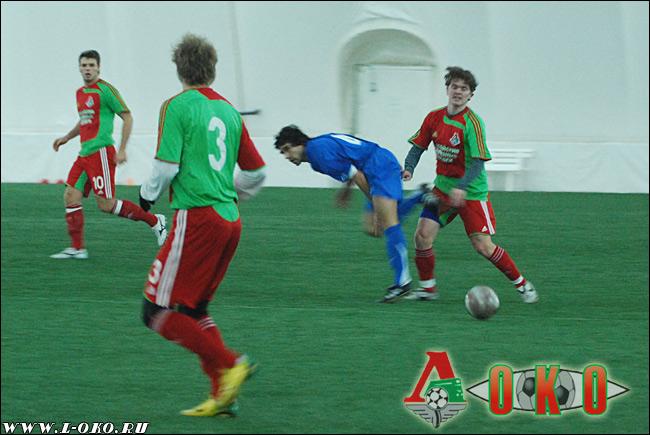 Товарищеский матч Локо-2 - ФК МВД. 1-4