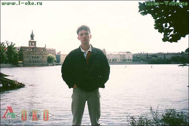 Прага. Река Влтава. Меновазин.