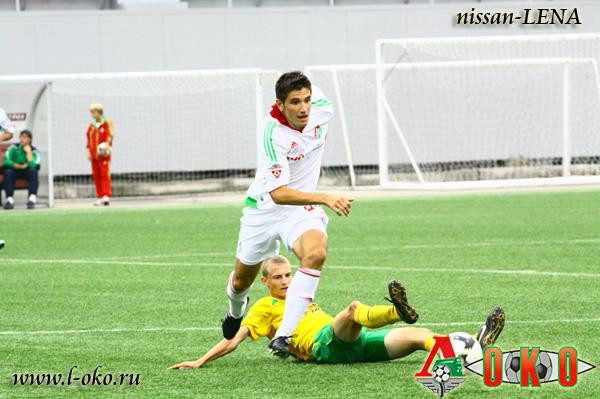 Локомотив (мол) - Кубань (мол)  5-0