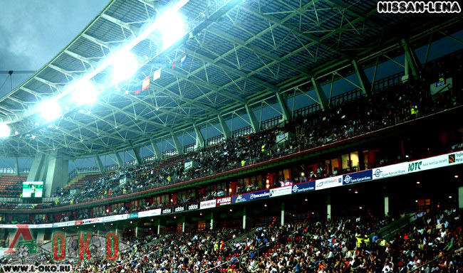 Стадион ФК Локомотив Москва в Черкизово