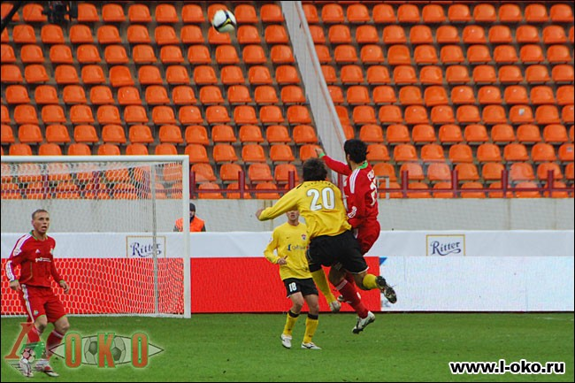 ФК Локомотив Москва - ФК Химки. 1-1