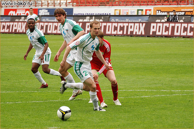 Локомотив - Терек. Фото с матча. Май 2009