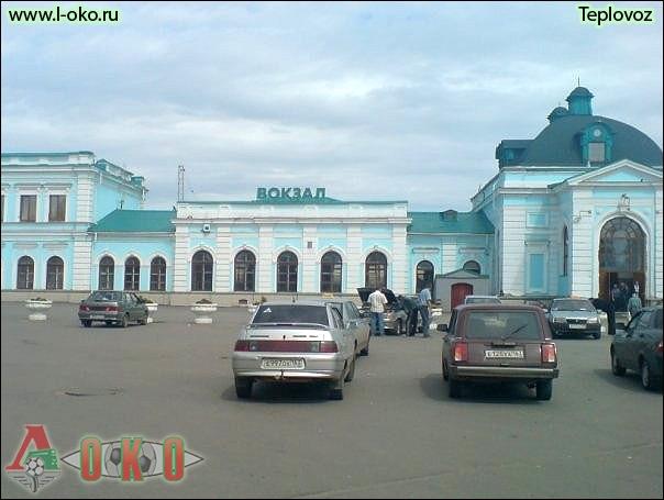 Вокзал Инзы
