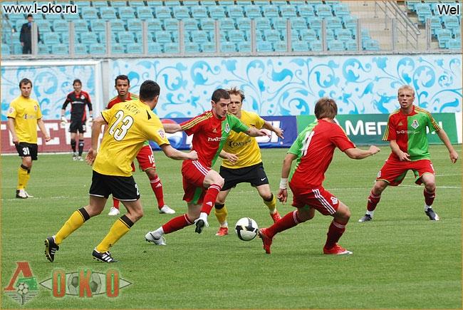 Химки - Локомотив Москва. Товарищеский матч. 0-1