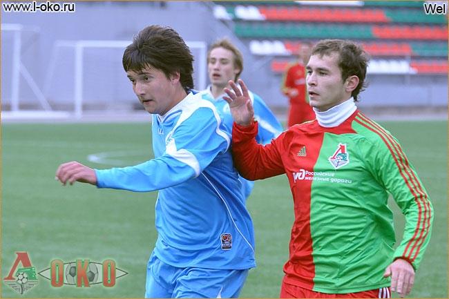 Локомотив Москва - Динамо Минск  1-1