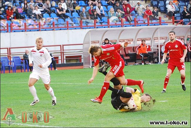 Локомотив - Спартак Нальчик  1-0