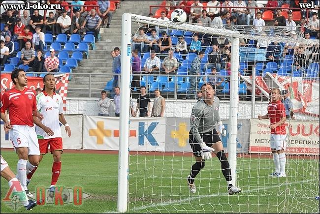 Спартак Нальчик - Локомотив Москва 0-1.