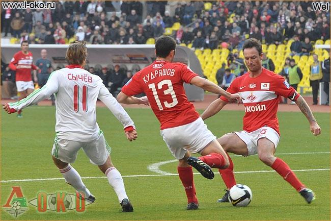 Спартак - Локомотив 3-0