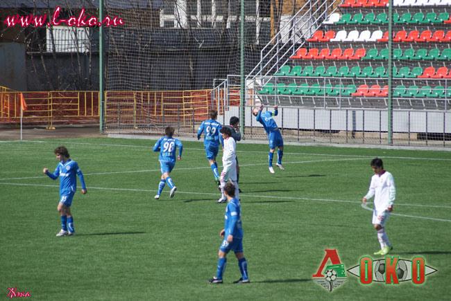 Локомотив (мол) - Зенит (мол). 2-1