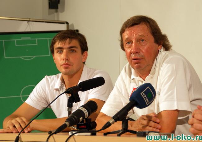 Пресс-конференция в Баковке