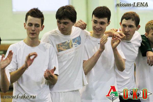 Зимний турнир болельщиков ФК Локомотив Москва. Финал Локомотив.ру - Funny Friends 5-6