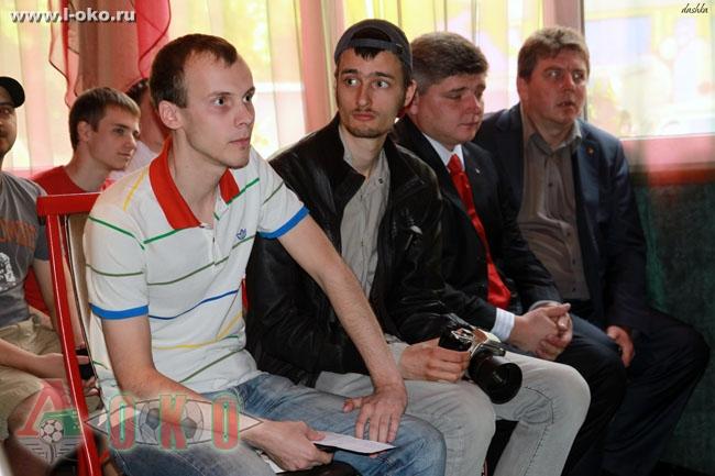 Встреча с Александром Алиевым, полузащитником Локомотива