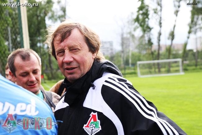 Открытая тренировка ФК Локомотив Москва 2010